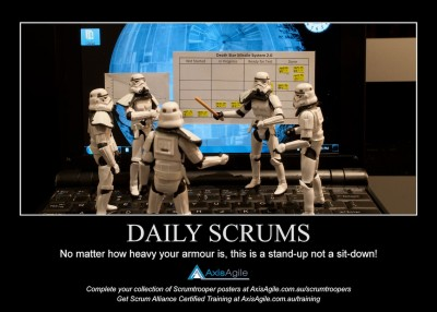 Daily Standups in Scrum - AxisAgile Scrumtroopers