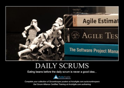 Daily Scrums - AxisAgile Scrumtroopers