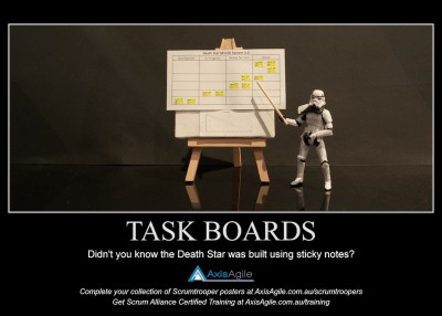 Taskboards in Scrum - AxisAgile Scrumtroopers